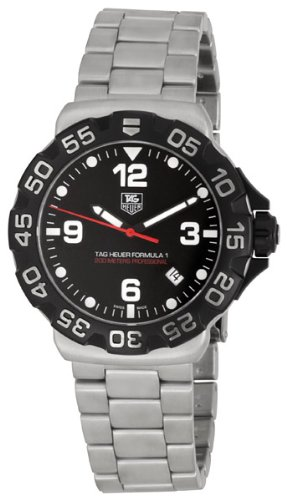 TAG Heuer Men's WAH1110.BA0858 Formula 1 Black Dial Watch