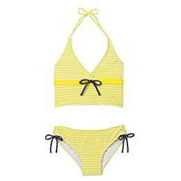 Girls' Xhilaration® Preppy Stripe 2-pc. Swimsuit
