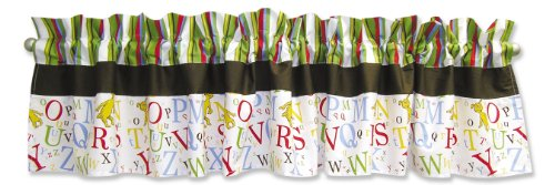 Trend Lab Dr. Seuss Window Valance, ABC