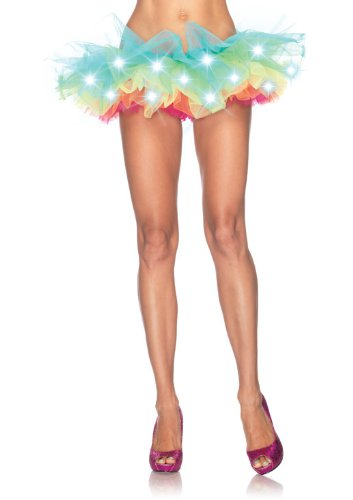 Leg Avenue Led Light Up Rainbow Neon Tutu