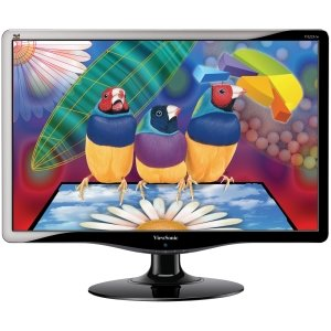 ViewSonic VA2231W-LED 22-Inch Widescreen LED Monitor - Black