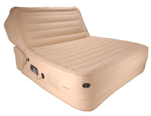 Simplysleeper ss 98q premium queen inflatable sofa air bed for Sofa bed air mattress reviews