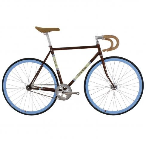Tommaso Augusta Classic Limited Edition Track Bike Rootbeer Brown