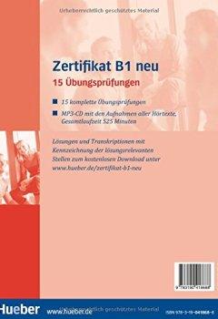 Herunterladen Zertifikat B1 Neu 15 übungsprüfungendeutsch Als