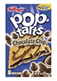 Pop-Tarts, (Semi-Frosted) Chocolate Chip, 8-Count Tarts (Pack of 12)