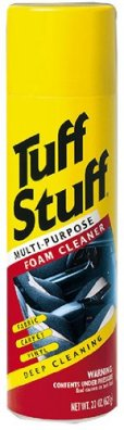 Use Tuff Stuff to get puke stains from babies or pets out of carpet.  || Helpful tips from thelittledabbler.com