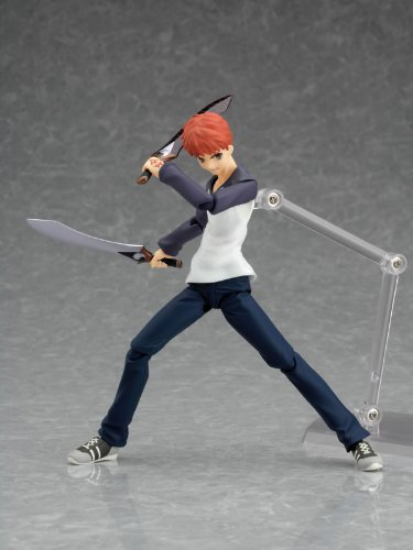 Fate/Stay Night : Shiro Emiya Using Casual Wear Figma Figure with blades