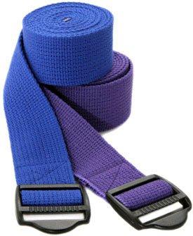 Yoga Strap 8' Cinch Buckle Cotton Yoga Strap