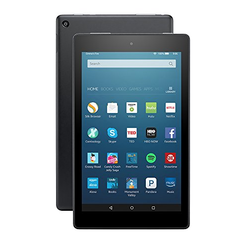 """All-New Fire HD 8 Tablet, 8"""" HD Display, Wi-Fi, 16 GB - Includes Special Offers, Black"""