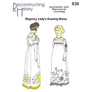 1790 -1810 Regency Evening Dress Pattern