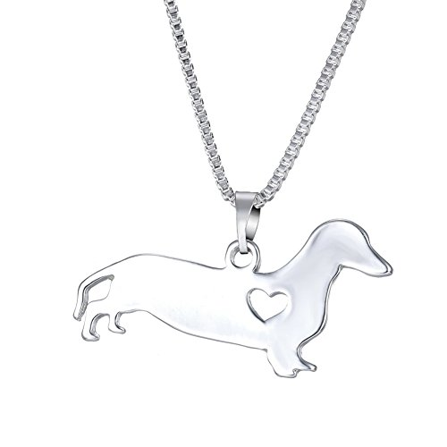 WeiVan Dachshund Necklace Sausage Dog Pet Jewelry