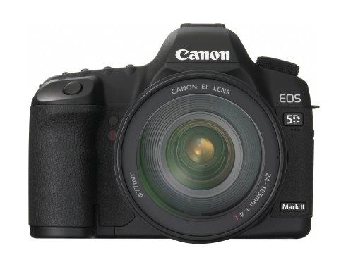 Canon EOS 5D Mark II 21.1MP Full Frame CMOS Digital SLR Camera with EF 24-105mm f/4 L IS USM Lens