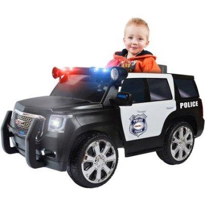 RollPlay-6V-GMC-Yukon-Denali-Police-Truck-Ride-On-dimensions-47-x-24-x-25-379-lbs
