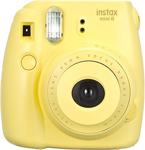 Fujifilm Instax Mini 8 Instant Camera (Yellow)