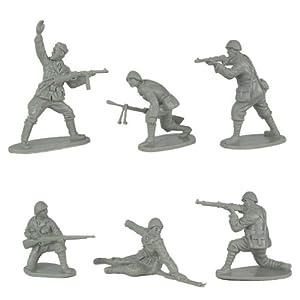 WWII Italian Infantry Plastic Army Men 12