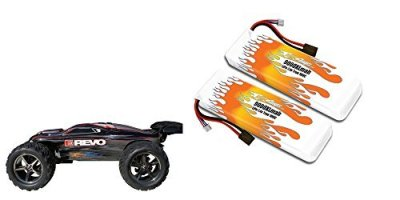 MaxAmps-9000mah-74v-LiPo-Pair-for-Traxxas-E-Revo