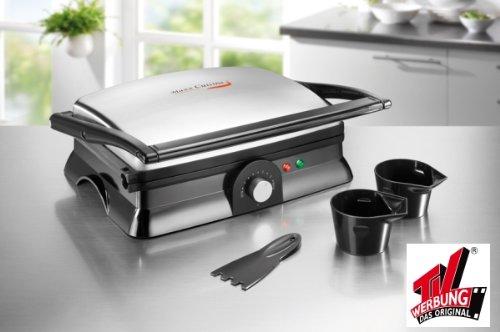 Maxx Cuisine Turbogrill 2in1 Tischgrill Grill Edelstahl