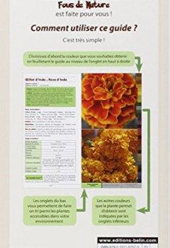 Livres Couvertures de Guide des teintures naturelles