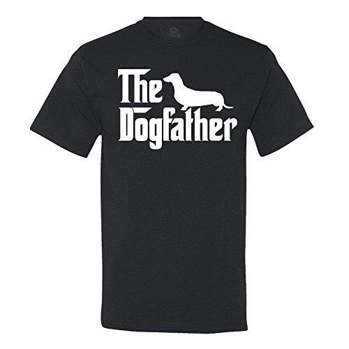 The Dogfather Dachshund Men's T-Shirt