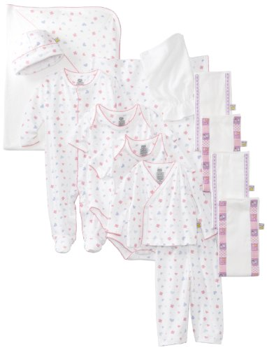 f7414bcd580174 Noa Lily Baby-Girls Newborn Butterfly Themed 11 Piece Gift Basket Set,  Pink, 6 Months Feature. 100% pima cotton ...