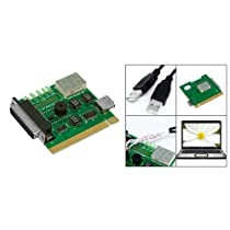 TOOGOO(R) Motherboard USB & PCI Analyser Diagnostic Card Tester for Desktop & Laptop PC