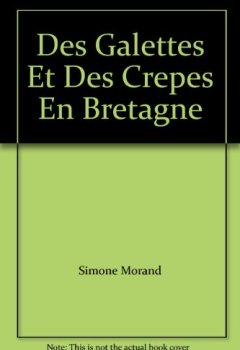 Livres Couvertures de Crêpes et Galettes de Bretagne