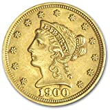$  2.50 Liberty Gold Coins - (Almost Uncirculated or Better!)