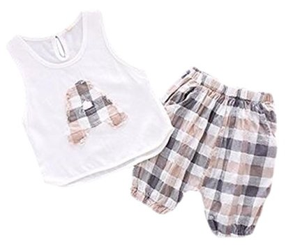 Binn-Baby-Boy-Casual-2pc-Letter-Tank-Top-and-Lattice-Short-Set-Khaki-12-24m