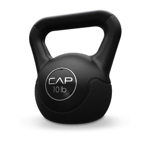 Cap Barbell Fitness Kettlebell Black