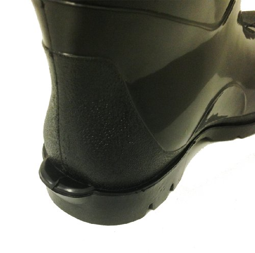 3711416b92ba8 R-30 Men s Rain Boots Black Rubber Waterproof Knee Slip-resistant ...