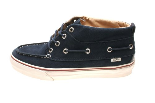 Vans Herrenschuhe Chukka Del Barco Decon California (Suede) Dress Blue/Vanilla Ice, Größe:44.5