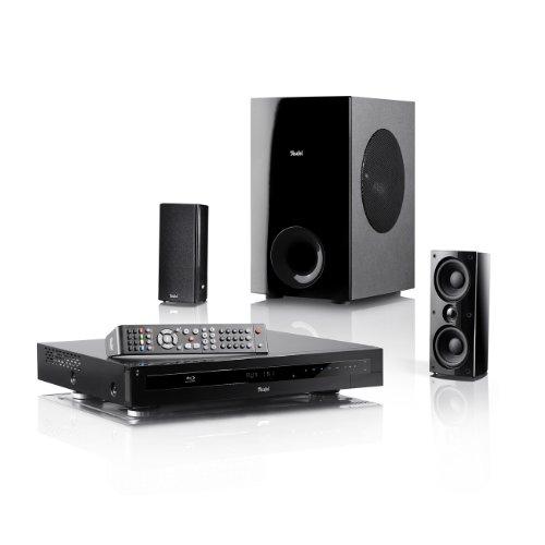 Teufel Impaq 300 Blu-ray Heimkino Komplett System 2.1 Schwarz