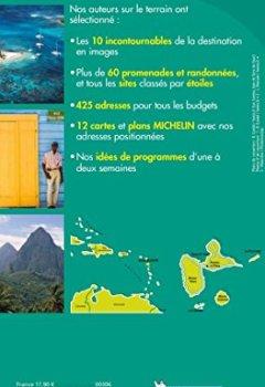 Livres Couvertures de Guide Vert Guadeloupe Michelin