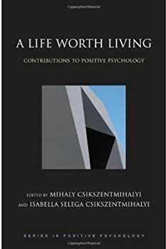 "Cover of ""A Life Worth Living: Contributi..."