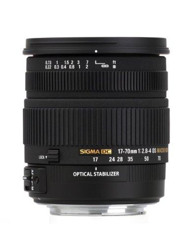 Sigma 17-70mm f/2.8-4 DC Macro OS HSM Lens for Canon Mount Digital SLR Cameras