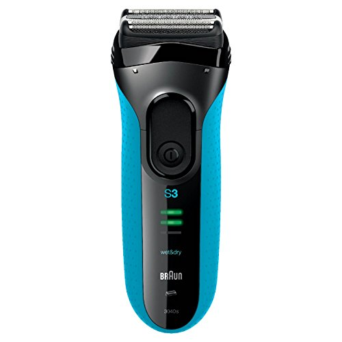 Braun Series 3 340s-4 Rechargeable Wet and Dry Foil Electric Shaver