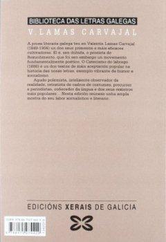 Portada del libro deO catecismo do labrego e outras prosas (Edición Literaria - Biblioteca Das Letras Galegas)