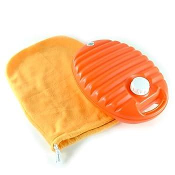 協越化学 あんしん湯たんぽ 3.0L 袋付 オレンジ