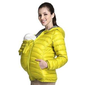 Mamaway-Womens-Maternity-Babywearing-3-in-1-Ultra-Light-Down-Jacket