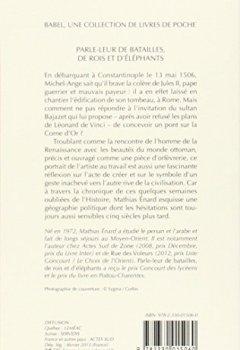 Livres Couvertures de Parle-leur de batailles, de rois et d'éléphants - PRIX GONCOURT DES LYCEENS 2010
