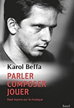 Livres Couvertures de Parler, Composer, Jouer
