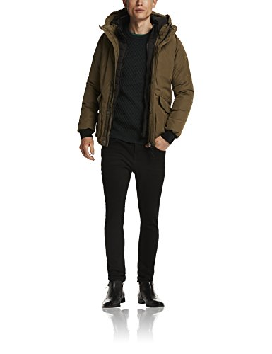 Scotch & Soda Herren Jacke Quilted Down Jacket in Cotton Blend Quality