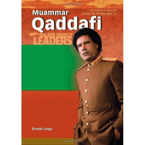 Brenda Lange: Kaddafi