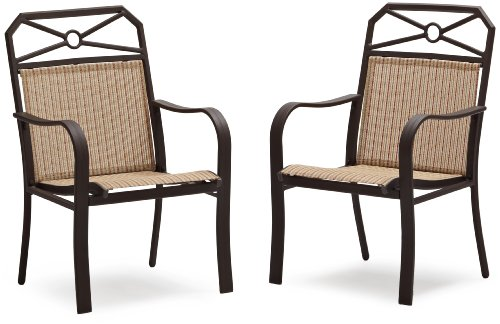 Awesome Strathwood Rawley Sling Chair, Set Of 2, Striped