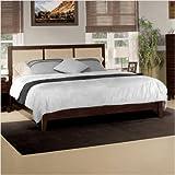 Palmetto Platform Bed in Pecan Size: California King