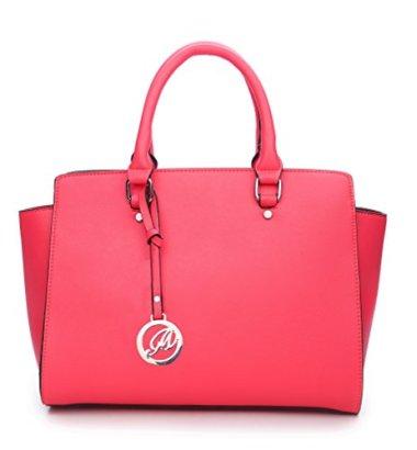 K664018L-MyLux-Women-Fashion-Designer-Purse-handbag-664018CORAL1