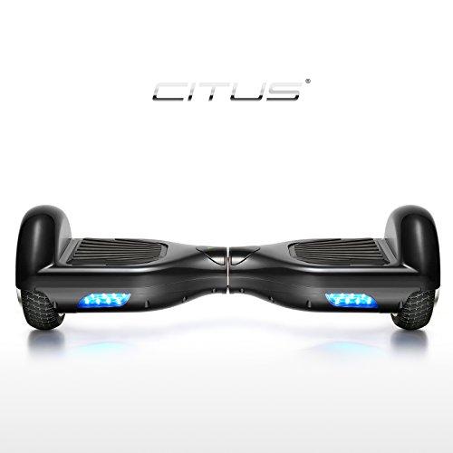 CITUS セグウェイ (SEGWAY) ミニバージョン式 充電タイプ 立ち乗り スマート電動二輪車 (二輪セグウェイ ブラック)