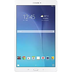 "Samsung Galaxy Tab E - Tablet de 9.6"" (WiFi, T-Shark2 Quad Core de 1.3 GHz, 8 GB, 1.5 GB RAM, Android KitKat), blanco (Versión europea)"