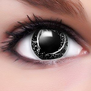 Farbige Kontaktlinsen Crazy Color Fun Contact Lenses 'Matrix Style' Topqualität