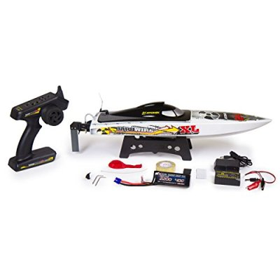 Atomik-Barbwire-XL-24-RTR-Brushless-RC-Race-Boat-Self-Righting-V-Hull-Design